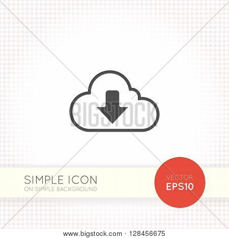Flat Cloud download icon. Cloud download icon image. Cloud download icon eps. Cloud download icon drawing. Cloud download icon vector. Cloud download icon jpeg.
