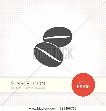 Coffee icon. Coffee beans icon. Coffee grains icon. Coffee icon vector. Coffee icon eps. Coffee icon jpg. Coffee icon flat. Coffee simple icon