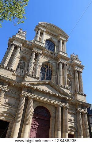 The Saint-Gervais - Saint-Protais Church in Paris
