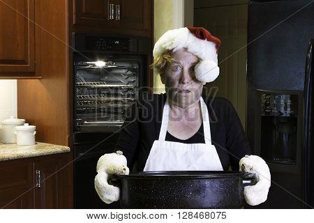 Christmas Dinner Kitchen Disaster