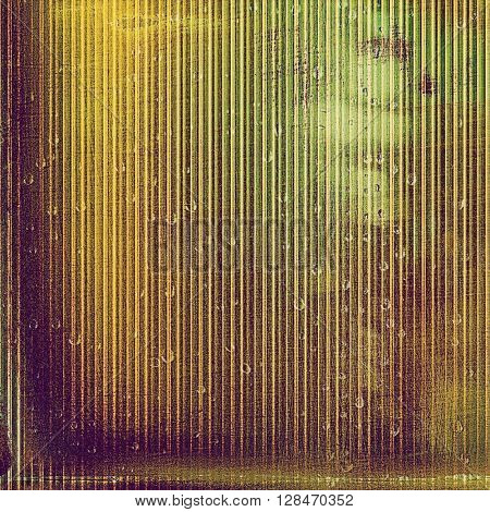 Mottled vintage background with grunge texture and different color patterns: yellow (beige); brown; gray; green; purple (violet)