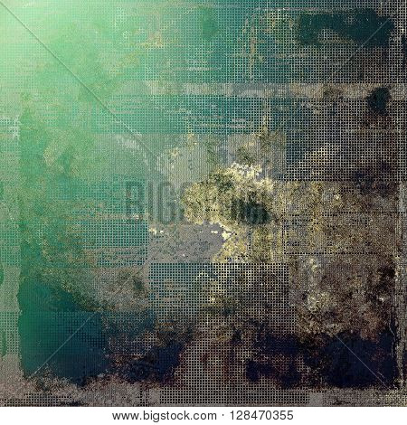 Vintage background texture, antique style composition for your design. With different color patterns: yellow (beige); brown; gray; green; blue; black