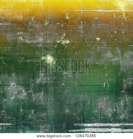 Colorful grunge background, tinted vintage style texture. With different color patterns: yellow (beige); brown; gray; green