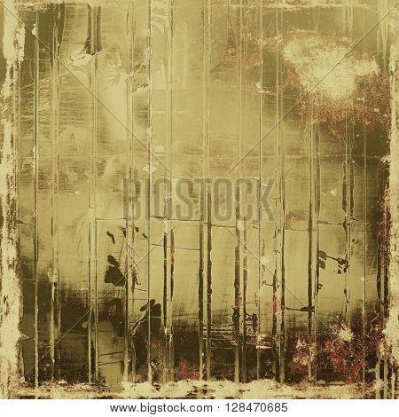 Abstract retro design composition. Stylish grunge background or texture with different color patterns: yellow (beige); brown; gray; black