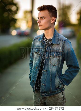 Teenage Boy Outdoor