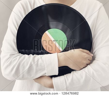 Vinyl Analog Audio Classic Record Spin Vintage Concept