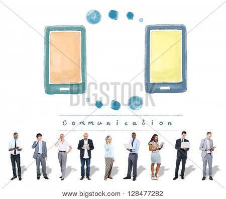 Communication Telecommunication Network Technology Concept