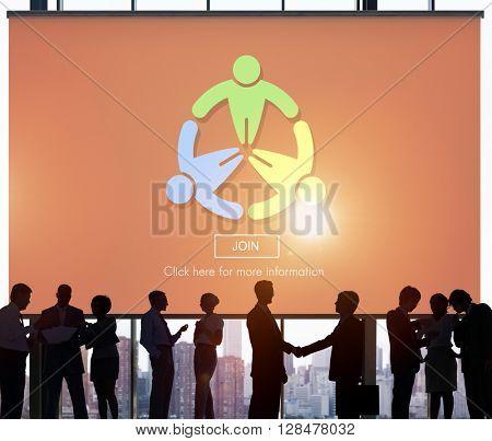 Join Apply Hiring Joining Membership Register Concept