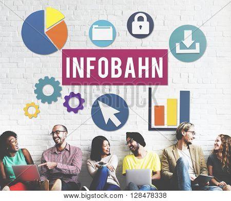 Infobahn Digit Information Matrix Concept