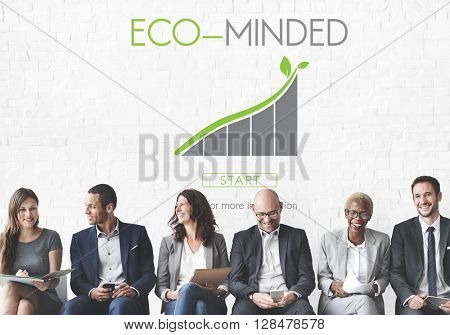 Eco-mind Earth Growth Ecology Concept