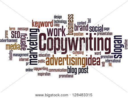 Copywriting, Word Cloud Concept 4