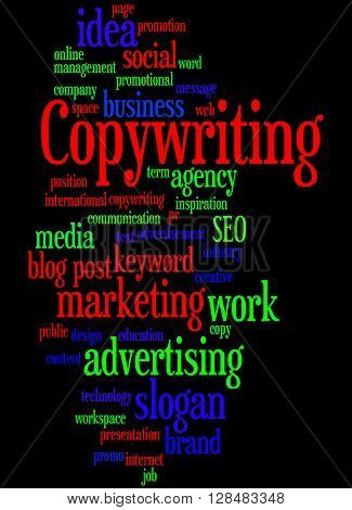 Copywriting, Word Cloud Concept 7