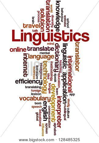 Linguistics, Word Cloud Concept 7