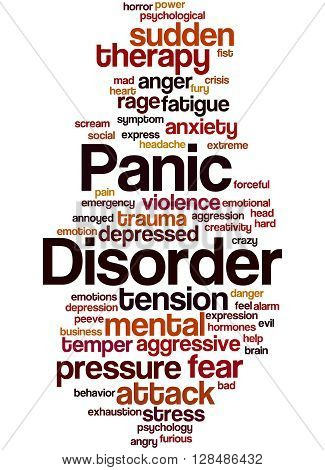 Panic Disorder, Word Cloud Concept