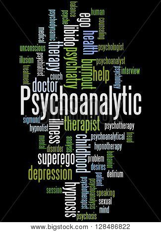 Psychoanalytic, Word Cloud Concept 2