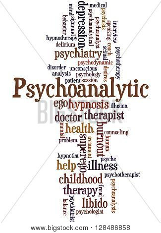 Psychoanalytic, Word Cloud Concept 6