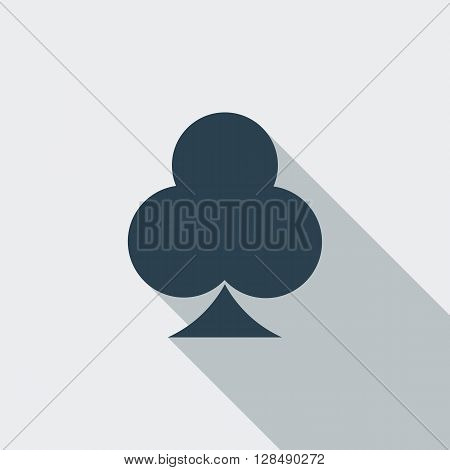 Phillips suit icon. Flat vector related icon with long shadow for web and mobile applications. It can be used as - logo, pictogram, icon, infographic element. Vector Illustration.