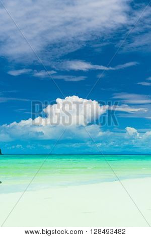 Lagoon Landscape Serene Waters