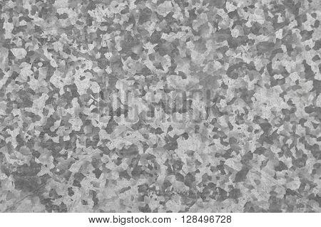 Sheet metal tin pattern shades of grey