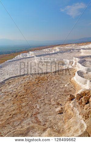 Calcium Bath   In Pamukkale Turkey
