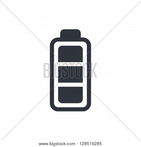 Battery Icon In Vector Format. Premium Quality Battery Symbol. Web Graphic Battery Sign On White Bac