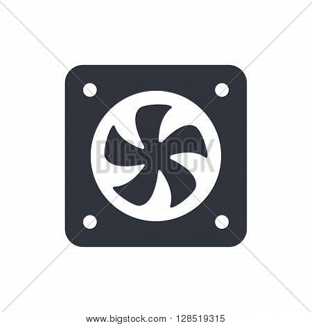 Fan Icon In Vector Format. Premium Quality Fan Symbol. Web Graphic Fan Sign On White Background.
