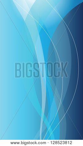 Modern blue background - graphic element