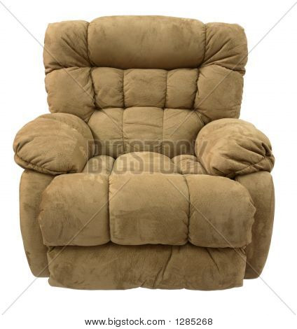 Brown Micro Fiber  Rocker Recliner
