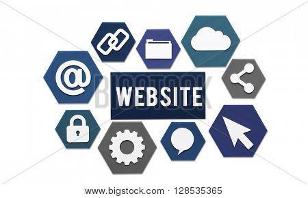 Website Browsing Internet Online Concept