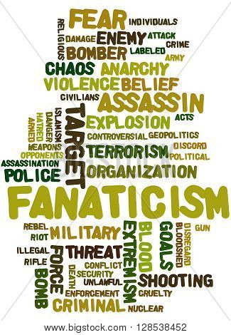 Fanaticism, Word Cloud Concept 8