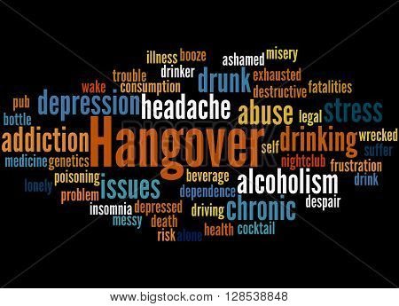Hangover, Word Cloud Concept 8