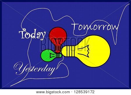 Today, yesterday, tomorrow 