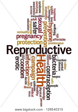 Reproductive Health, Word Cloud Concept 5
