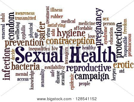 Sexual Health, Word Cloud Concept 9