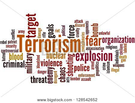 Terrorism, Word Cloud Concept 9