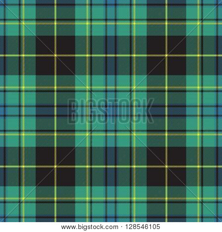 Pride of ireland tartan kilt texture seamless pattern .Vector illustration. EPS 10. No transparency. No gradients.