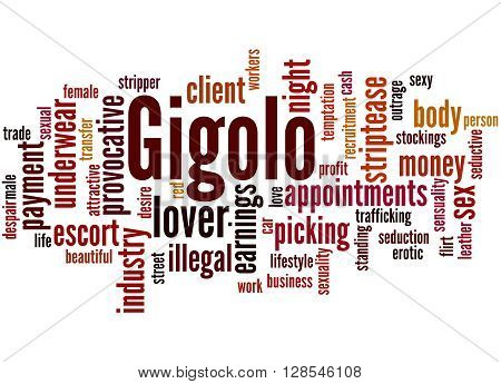 Gigolo, Word Cloud Concept 8