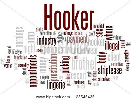 Hooker, Word Cloud Concept 2