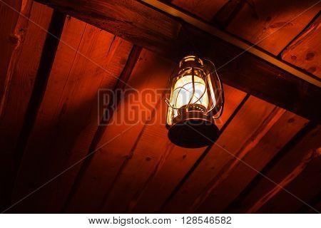 old kerosene lantern