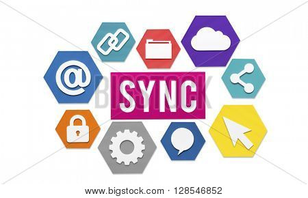 Sync Storage Sharing Transfer Concept