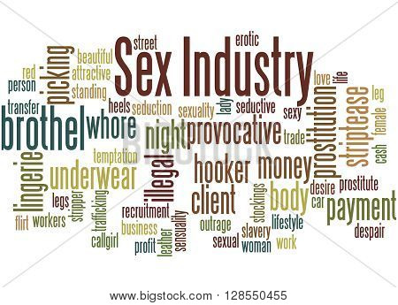 Sex Industry, Word Cloud Concept 5