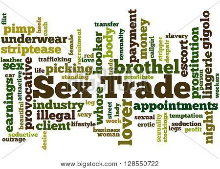 Sex Trade, Word Cloud Concept 6