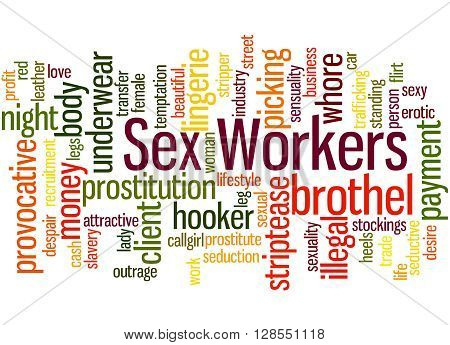 Sex Workers, Word Cloud Concept 8