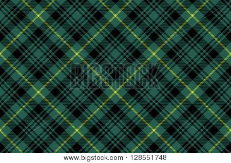 gordon tartan fabric texture check pattern seamless .Vector illustration. EPS 10. No transparency. No gradients.