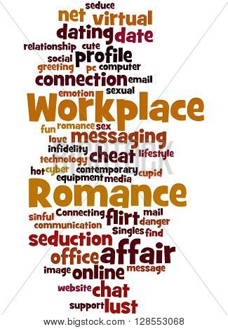 Workplace Romance, Word Cloud Concept 4