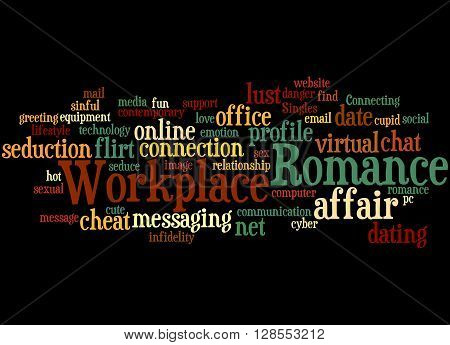 Workplace Romance, Word Cloud Concept 8
