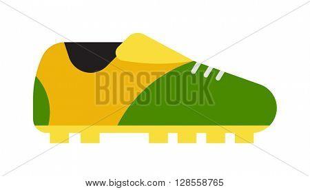 Football boots vector illustration.