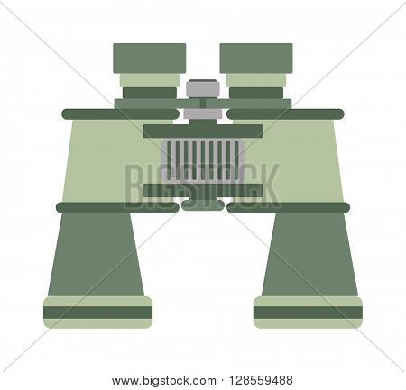 Binoculars vector illustration.