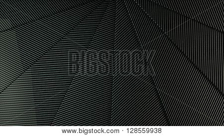 nice carbon overlapping panels backgorund 3d illustration