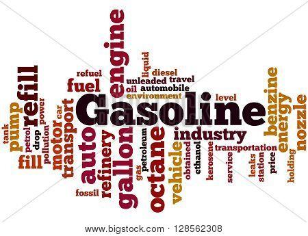 Gasoline, Word Cloud Concept 5